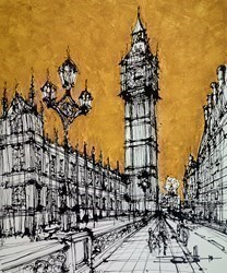 From Westminster Bridge by Ingo -  sized 35x43 inches. Available from Whitewall Galleries